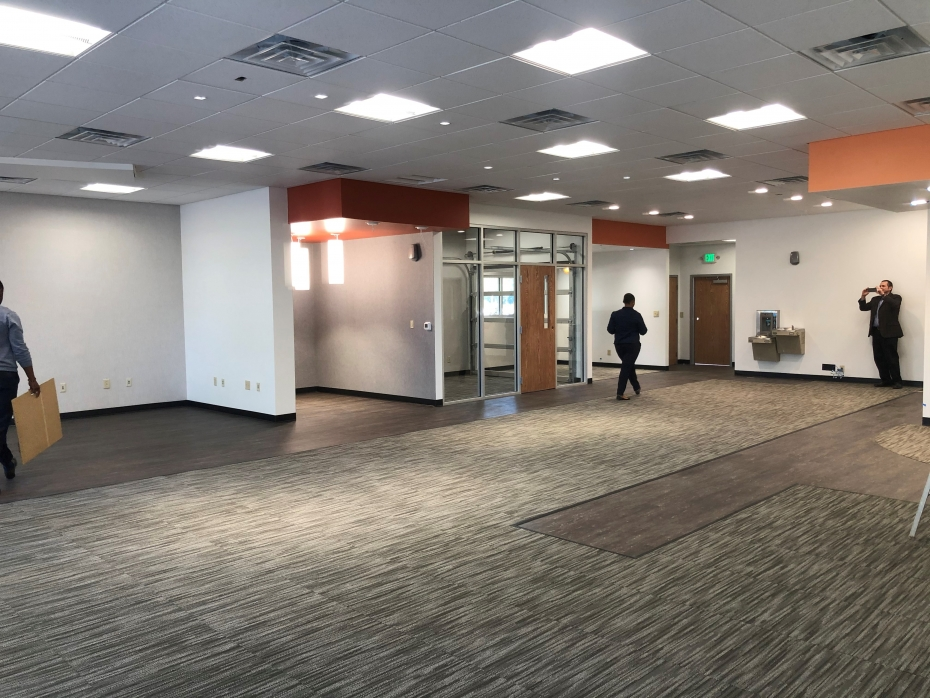 A photo of the interior of Richalnd Library Lower Richland