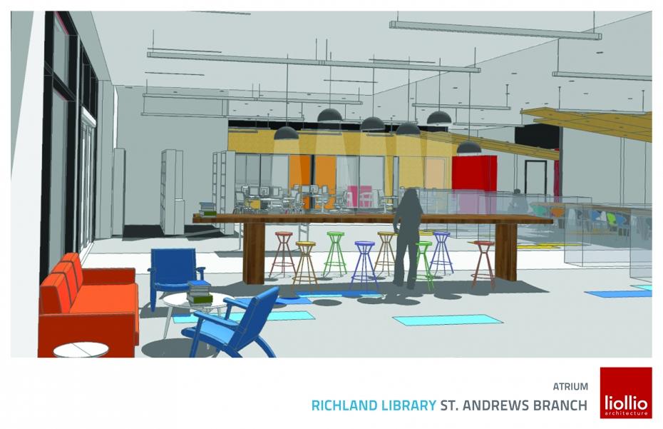 St. Andrews Library Atrium
