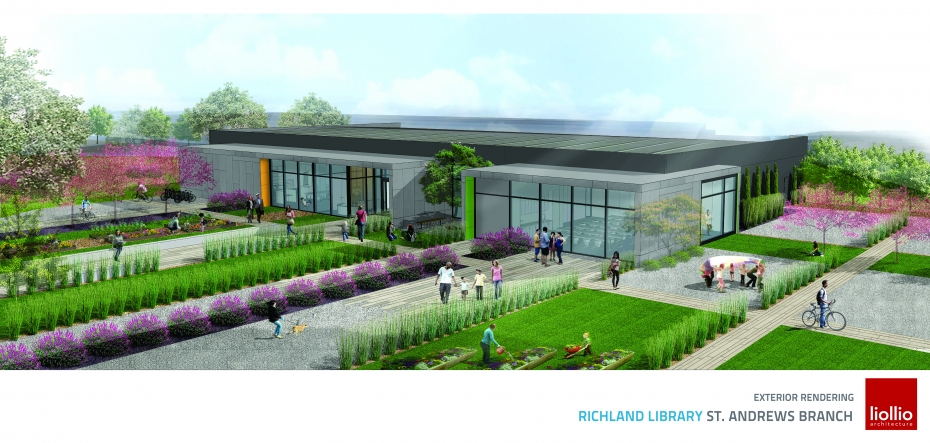 St. Andrews Library Rendering
